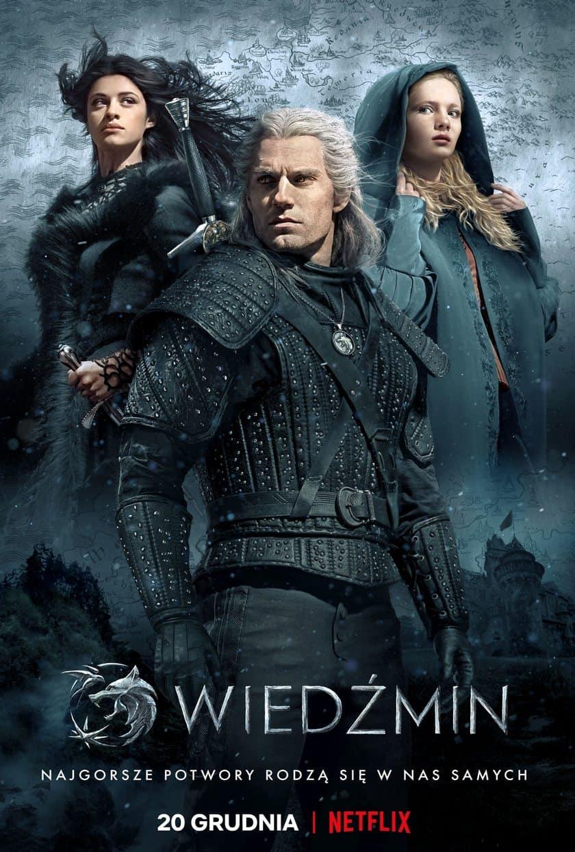 wiedźmin netflix plakat